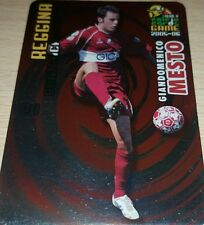 CARD CALCIATORI PANINI 2005-06 REGGINA MESTO CALCIO FOOTBALL SOCCER ALBUM