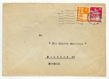 SS102 1949 West Germany Karlsruhe to New York/Voice of America