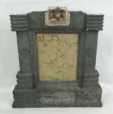 19th.C JEWISH JUDAICA ALTAR PHOTO PICTURE FRAME WOOD STAR OF DAVID ARCH HOLY ARK