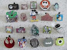 Disney Trader Pins Lot of 20 Disneyland Disney World Lanyard Pins