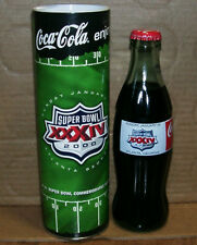 Super Bowl XXXIV Atlanta 2000 Coca-Cola Coke Bottle & Tube