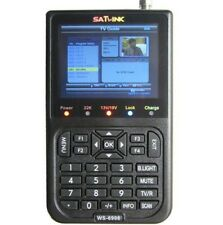 "SATLINK WS-6908 3.5"" LCD DVB-S Digital Satellite Finder Satellite TV Receiver"