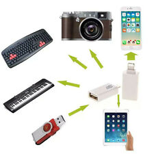 USB Female to 8 Pin Male OTG Adapter Converter for iphone5/5s/6 plus