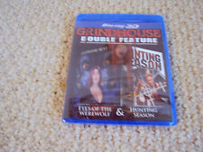 EYES OF THE WEREWOLF & HUNTING SEASON GRINDHOUSE Blu-Ray 3D Dvd Factory Sealed