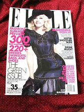 Madonna Opens Up ELLE Hard Candy Promo Spread Magazine Sticky & Sweet Tour
