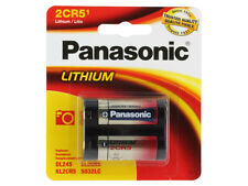 Panasonic 2CR5 6v Lithium Photo Battery DL245 EL2CR5 KL2CR5 5032LC