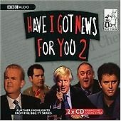 """Have I Got News for You"": No. 2 (Radio Collection),,New Book mon0000049194"