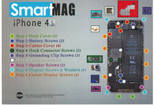 SmartMag magnet tool help repair for your iPhone 4s, screw fix magnetic