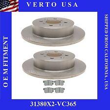 Rear Brake Kit For Acura EL & Honda Civic, Verto USA 31380X2-VC365