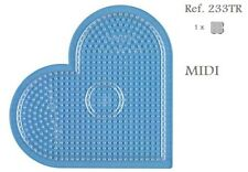 233TR Hama Beads MIDI Placa corazón grande Pegboard