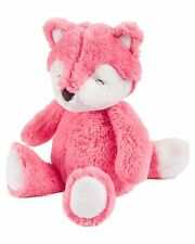 New Carter's Plush Girl's Doll Toy Animal Pink Adorable Fox NWT 9 inch  Soft