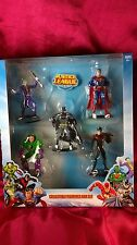 JUSTICE LEAGUE 5 BOX SET BATMAN JOKER NIGHTWING SUPERMAN LEX LUTHOR FIGURINES