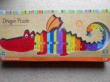 DRAGON PUZZLE HANDCRAFTED WOODEN ALPHABET PUZZLE