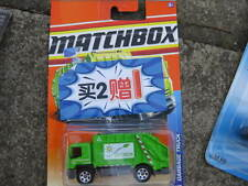 Matchbox Garbage truck Mint on rare Chinese blister card