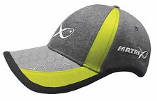 Fox Matrix Surefit Cap / Grey/Lime / Carp Fishing / GPR145