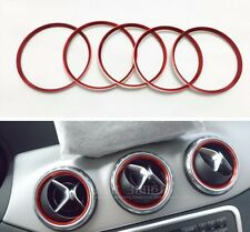 Air Vent Outlet Ring Cover Trim For Mercedes Benz A Class A180 A200 A250 W176