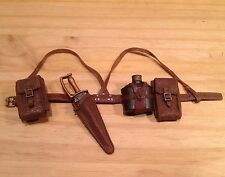 1:6 rare Iron Forest Neu Field Army Raidman belt harness + knife 3A Hot WWR toy