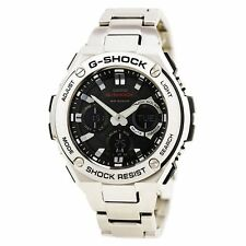 Casio G-SHOCK GSTS110D-1A G-STEEL Tough Solar Analog Digital Men's Watch