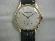 IWC menswatch 18ct yellowgold, freshly revised, Cal. 88