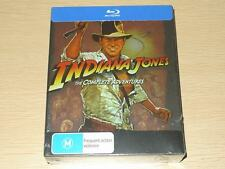 Indiana Jones Complete Adventures Collection Blu-ray BOX SET Region B  4 Movies