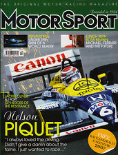 Motor Sport Apr 2007 - Nelson Piquet, David Coulthard, Mercedes SLR McLaren 722