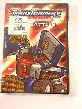 Transformers Armada Best Battles DVD New in Sealed Box