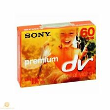 1 Sony Camcorder Premium Mini DV Tape 60 MINS Cassette MiniDV BRAND NEW Genuine