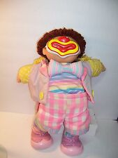 VINTAGE 1982 CABBAGE PATCH DOLL ANSON RAY / 7 PIECE CLOWN OUTFIT /CERTIFICATE VG