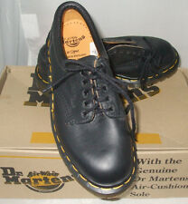 "NWB DR. MARTENS ""MIE"" 8053 BLACK GREASY NAPPA BLACK US 5/ UK 3 WOMEN'S SHOE"