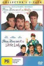 THREE MEN & A BABY / THREE MEN & A LITTLE LADY NEW/SEALED 2-DISC DVD, TED DANSON