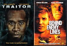 Traitor (DVD, 2008) & Behind Enemy Lines;2 Action DVDs