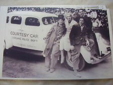 1936 STUDEBAKER CLEVELAND POLICE  & MARX BROTHERS 11 X 17  PHOTO /  PICTURE