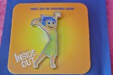 AMC Theater Stubs Exclusive DIsney Pixar Inside Out movie Pin Joy New Rare