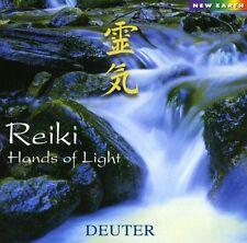 Reiki Hands Of Light - Deuter (2002, CD NIEUW)
