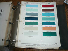 1955 Plymouth Ditzler PPG Color Chip Paint Sample - Vintage