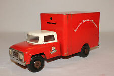 Gamo Toys, Made in Mexico, 1960's Pressed Steel Armoured Truck Bank, Original