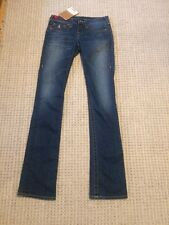 TRUE RELIGION Wendy Womens Ladies blue jeans W26 L 34