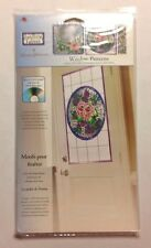 """Donna's Garden"" #16390   PLAID Gallery Glass WINDOW PATTERNS    New"