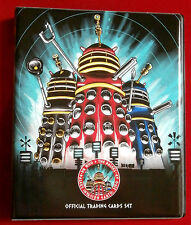 Dr who & the daleks-official trading card binder-doctor who (irrésistible)