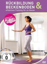 Rückbildung & Beckenboden-Effektives Training Für zu Hause *DVD*NEU*