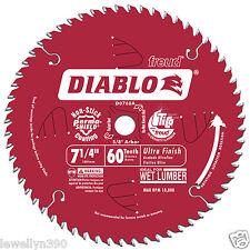 """Freud D0760A 7-1/4"""" 60 Tooth Diablo Saw Blade NEW"""
