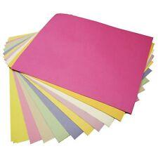 Azúcar de papel A4 Surtidos De Color Pastel páginas-Pack De 100 Hojas