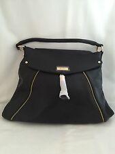 """NWT Onna Ehrlich """"Kelly Style"""" Black Handbag"""
