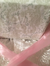 SIMPLY SHABBY CHIC SHEETS FULL SIZE SET RACHEL ASHWELL NEUTRAL CHIC COLORS ❤️❤️