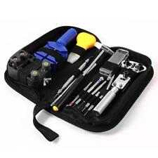 13 Pieces Zip Case Battery Changing Remover Screwdriver Kit Watch Repair Tool