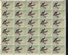 RW35 Sheet of 30. 1968 25 stamps NH. Difficult to obtain. Catalog $1950+