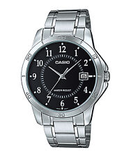 Casio MTP-V004D-1B Mens Analog Watch MTPV004D-1B