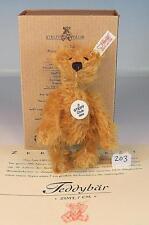 Steiff Club Edition Jahresgeschenk 2002 Teddy 7cm zimt mit K/F/S OVP #203