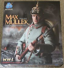 "Figura De Acción Max ww1 alemán DID Muller 1/6 12"" en Caja Dragon Cyber Hot Toy"