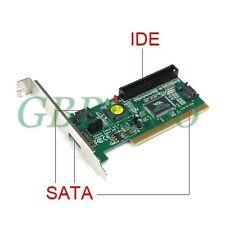 VIA VT6421 3 Port SATA Serial ATA + 1 IDE PCI I/O Controller PC Adapter Card